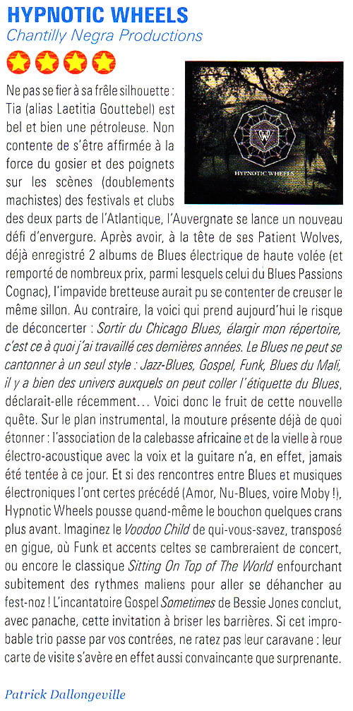 Hypnotic Wheels - Blues Mag 76 avril 2015-2