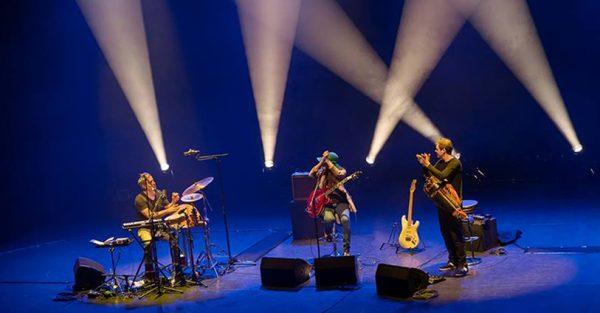 Hypnotic Wheels - The Band - Photo Yann Caballo