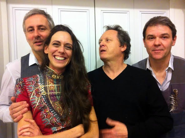 Marc Glomeau, Tia Gouttebel, Pierre Bianchi, Gilles Chabenat.