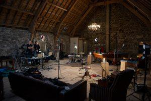 Enregistrement homecoming - Vielle à roue, guitare, percussion - auvergne